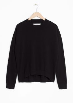 & Other Stories image 2 of Cashmere Sweater in Black