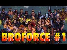 """Бробанда"" ● Broforce coop #1 ● PS4 Gameplay на русском - YouTube Games On Youtube, Ps4, Comic Books, Comics, Cover, Ps3, Cartoons, Cartoons, Comic"