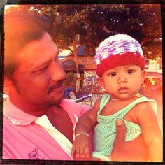 Father & child @Koh Tao, Thailand #precious Koh Tao, Mom And Dad, Fathers, Thailand, Winter Hats, Dads, Beanie, Pure Products, Children