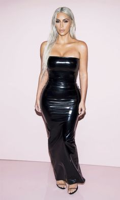 Kim Kardashian attended the Tom Ford show at New York Fashion Week, and wore her most extreme outfit yet.