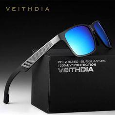 4b337980e87 Phoenixlen Vintage Sunglasses Fashion Men s Sport Polarized Glasses Coating  Mirror outdoor For Man