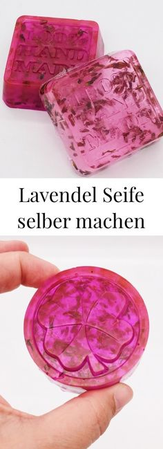 Make lavender soap yourself - simple recipe- Lavendel Seife selber machen – einfaches Rezept DIY cosmetics: make soap yourself with lavender. Anti-stress and wellness for the soul. Shampooing Diy, Diy 2019, Diys, Lavender Soap, Easy Diy Gifts, Diy Presents, Diy Blog, Handmade Soaps, Soap Making