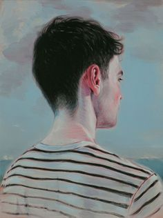 "Kris Knight Bound ( I Heard Every Word) oil on Canvas 24x18"" 2015"