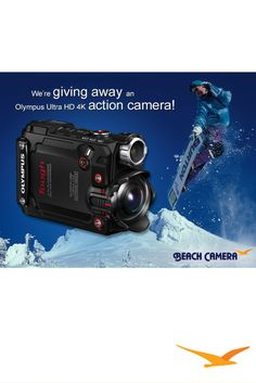Beach Camera is excited to announce our January GIVEAWAY! We will be giving away a Olympus Stylus TG-Tracker 4k Action Cam to one lucky winner the end of month!  ENTER HERE- http://woobox.com/v89aui