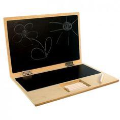 I-Wood-My-First-Laptop-Holz-Notebook-Tafel-Kreide