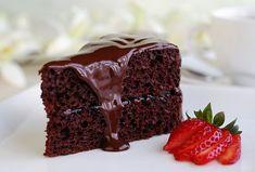 Čokoládový dort podle italského receptu (poctivá porce čokolády) Chocolate Sin Gluten, Keto Chocolate Cake, Chocolate Recipes, Decadent Chocolate, Hazelnut Cake, Pecan Cake, Brownies, Best Chocolate Cupcakes, Mud Cake