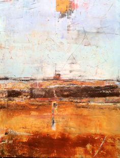 Oil on wood Mark Bettis