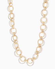 charming charlie   Long Circle Necklace   UPC: 400000011448 #charmingcharlie