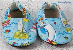Sail Away Booties - They have traction soles too! They have a retro feel to them