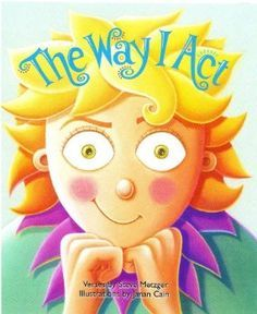 The Way I Act book for teaching social skills. Behavior management and manners.
