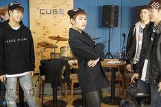 Hyunsik,  Changsub, Ilhoon, Penial BTOB THE BEAT Episode 6.