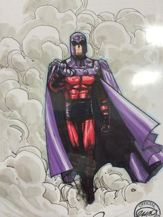 Magneto by Humberto Ramos, colours by Edgar Delgado *