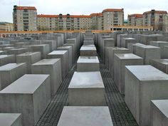 The Berlin Holocaust Memorial is a controversial Structuralist work by architect Peter Eisenman.