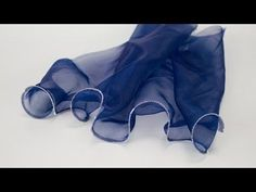 How to Sew a Curly Hem With Fishing Line - YouTube