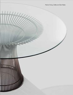 In the 1960s Warren Platner transformed steel wire into a