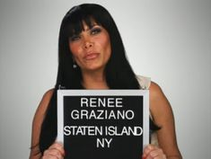 Mob Wives Star Renee Graziano Confirms She Is 'Clean And Sober' After Four Stints In Rehab! Mob Wives Quotes, Carla Facciolo, Mafia Wives, Loyalty Tattoo, Reality Tv Shows, Staten Island, Italian Girls, Ex Husbands, Mug Shots