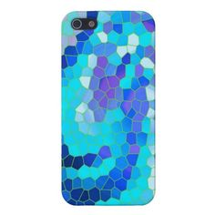 Aqua Purple  Blue Violet Abstract Mosaic Pattern iPhone 5 Case- My original mosaic pattern design printed on a Case Savvy iphone 5 case. Beautiful blues and purples!  http://www.zazzle.com/aqua_purple_blue_violet_abstract_mosaic_pattern_iphone_case-256741000359659989?CMPN=addthis=en