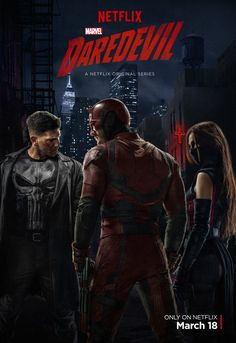 Marvel has released the first piece of promo material for the third season of Daredevil set to stream to Netflix later this year. Daredevil Season 2 Poster, Daredevil Tv Series, Marvel's Daredevil, Netflix Daredevil, Ms Marvel, Marvel Dc Comics, Marvel Avengers, Luke Cage, Cinema