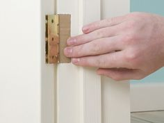 How to fix:  -Sticking Door: Plane the sides  -Rubs on the Floor  -Rattling: Move the Stike Plate  -Rattling: Move the door stop  -Too Loose: Tighten hinge attachments  -Sticking on the hinges  -How to switch the opening