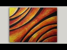 Abstract Arches Step by Step Acrylic Painting on Canvas Tutorial - YouTube