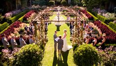 Sendall-Trevis Wedding - Ceremony. Event Designed by Meade Design Group.