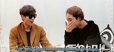 TOP is even too much for other guys to handle LOL (gif) #winner