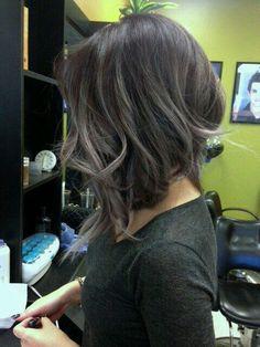 Balayage gray                                                                                                                                                                                 More