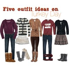 outfit ideas for thanksgiving.