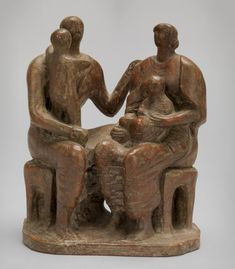 'Family Group', Henry Moore OM, CH | Tate