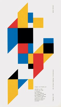 Flyer Goodness: Classic Design by Walter Ballmer