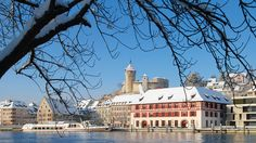 Schaffhausen - Switzerland's city of oriels.