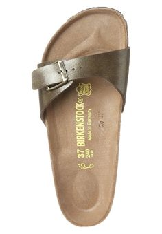 7cd81f1db5e4 Birkenstock - MADRID - Pantolette - gold braun Birkenstock