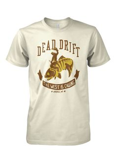 Fly Fishing T Shirt Classic Charcoal Sketch by Dead Drift Fly Fishing Apparel suTha