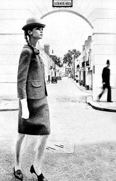 Jean Shrimpton by Norman Parkinson for Vogue, 1963.
