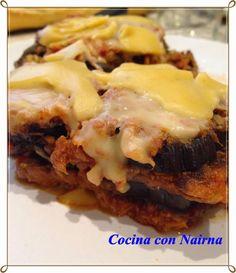 COCINA CON NAIRNA (Mycook y Gm E): Mussaka de Atun