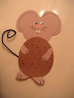 If You Give a Mouse a Cookie - Craft