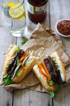 Portabello Banh Mi Sandwiches