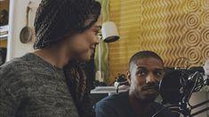Tessa Thompson and Michael B. Jordan // Creed (2015)