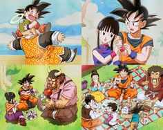 OMG Goku in the second panel made my day <3