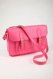 New fave bag... Pink satchel from Typo