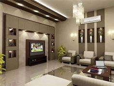 Modern living room design ideas 2019 interior design ideas Home Interiors is the channel where you will get amazing ideas for your interior design which incl. Living Room Decor Tv, Living Room Tv Unit Designs, Tv Wall Decor, Living Room Modern, Tv Wall Design, House Design, Tv Wanddekor, Plafond Design, False Ceiling Design