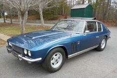 """'70 Jensen FF ... """"one of 320 built between 1966 and 1971"""" and """"the world's first production car equipped with either road biased four wheel drive or anti-lock brakes—the latter a Dunlop developed Maxaret system previously employed only on aircraft and large trucks."""""""