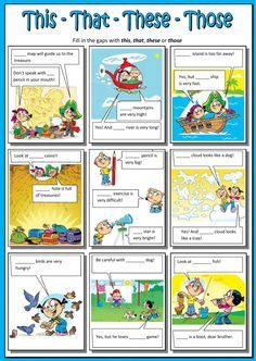 Demonstratives interactive and downloadable worksheet. Check your answers online or send them to your teacher.