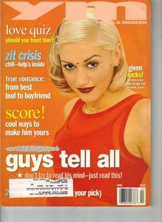 YM with Gwen. I cherished this cover.