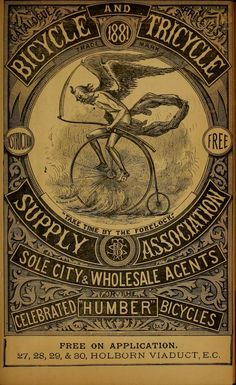 The Wheel world Bicycles and Tricycles 1881