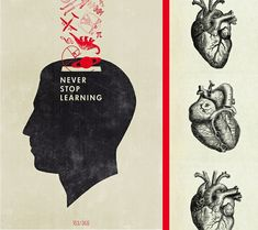 Never Stop Learning Illustration | Alicia Carvalho