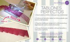 """¿Sabías que con un tenedor puedes coser tablones perfectos? Conoce más consejos en la categoría """"Tips de Costura"""" de nuestro sitio web y si tienes algún consejo de costura ¡Compártelo!"""