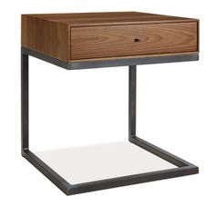 Hudson C-Table/Nightstand - End Tables - Living - Room & Board