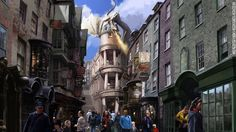 The latest installment of The Wizarding World of Harry Potter is scheduled to open this summer in Orlando's Universal Studios theme park. Th...