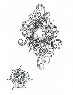 • ❃ • ❋ • ❁ • tanglebucket • ✿ • ✽ • ❀ •: LOLLYWIMPLE, Sandy Hunter, CZT, zentangle